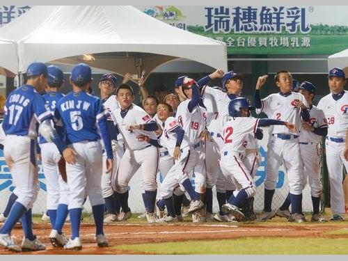 台湾、韓国に圧勝  決勝戦にあと1勝/野球U12W杯