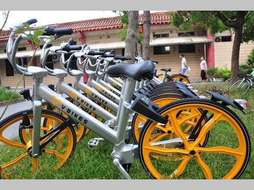 自転車シェアリング、新たに「V BIKES」が参入  来月供用開始へ/台湾