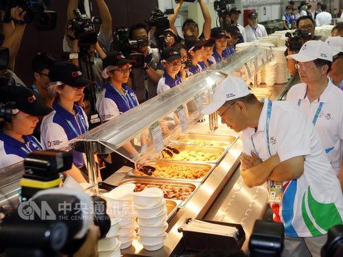 <台北ユニバ>台湾初の選手村が開村 1万2000人が宿泊へ