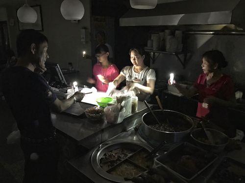 台湾で大規模停電  桃園の火力発電所6基が運転停止で