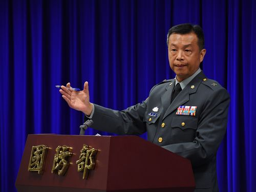 国防部「高度な警戒維持」=中国大陸軍機、台湾の防空識別圏進入で