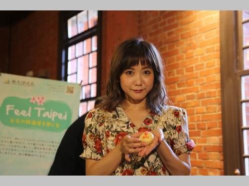 台湾訪問30回以上 モデルの田中里奈さん、台北観光大使に