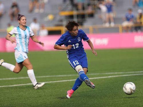 <台北ユニバ>女子サッカー予選 台湾がアルゼンチンに快勝