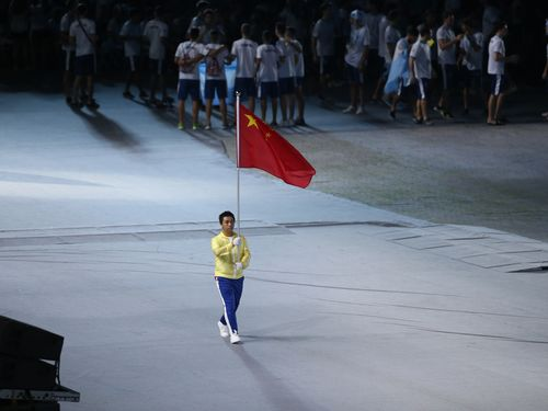 台湾初開催のユニバ、中国大陸が開会式欠席  会場には中華民国国旗