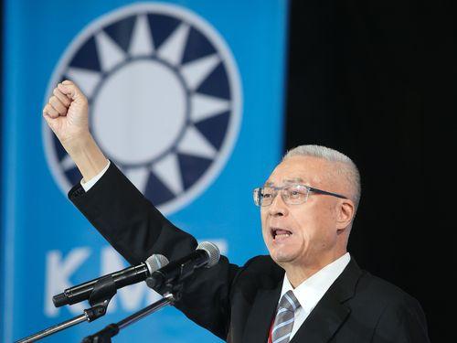 呉敦義・国民党新主席、「台湾独立に断固反対」=就任あいさつ