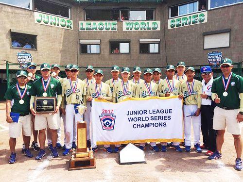 台湾代表が5連覇達成 決勝で米国にコールド勝ち=野球ジュニアリーグ