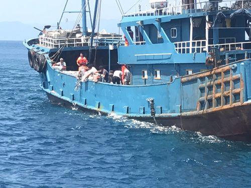 中国大陸籍漁船を拿捕 北部離島海域に侵入 漁獲量1トン/台湾