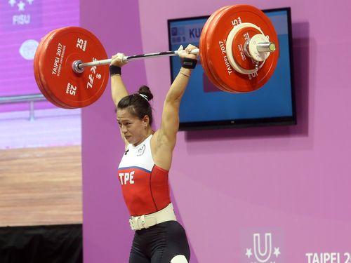 <台北ユニバ>女子重量挙げ、リオ銅の郭が金メダル ジャークで世界新