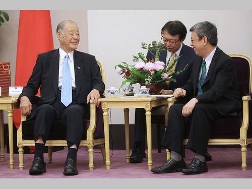 TPPの早期発効を 陳副総統、日本に期待=玉澤元農相と面会/台湾