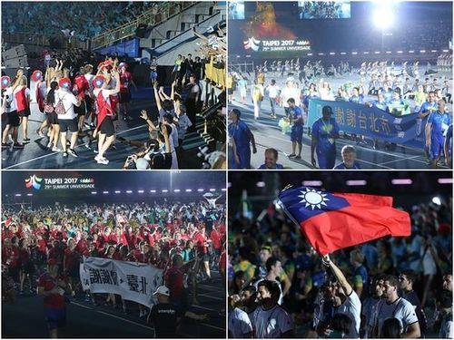 台北ユニバ閉幕  都市の魅力、選手の心に刻む/台湾