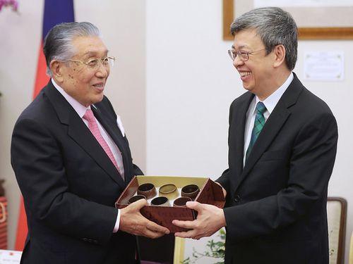 陳副総統、衆議院議員らと面会 日本との協力関係強化に期待/台湾