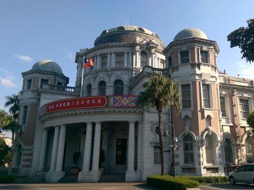 日本統治時代の1915年に完成した監察院(旧台北州庁)庁舎