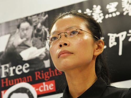 逮捕された台湾NGO活動家の公判、11日に開廷 妻が中国大陸へ