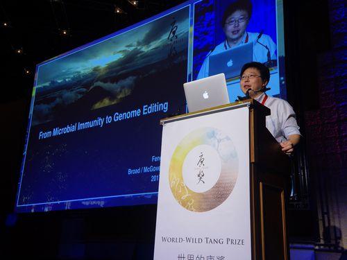 唐奨バイオ医薬賞受賞のフェン・チャン氏、エルサレムで講演/台湾