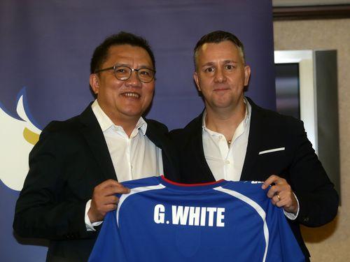 サッカー台湾代表監督、黒田和生氏の後任に英国人ホワイト氏
