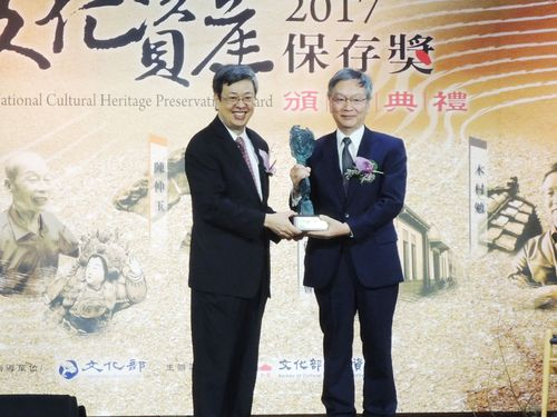 台湾の文化財修復に貢献 日本人教授が「国家文化資産保存奨」受賞