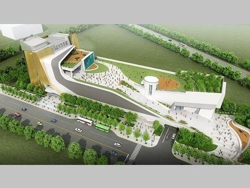 完成イメージ図=台中市政府都市発展局ウェブサイトより