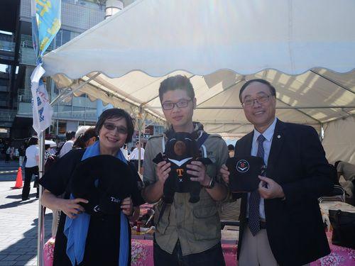 東京・有楽町駅前で台湾観光をPR 日本人に魅力を紹介