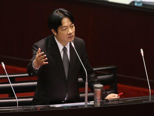 頼行政院長「私は台湾独立を主張する政治家」 立場を改めて表明