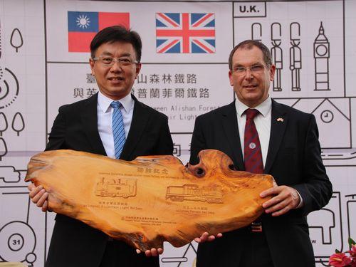 阿里山鉄道、英ウェールズの鉄道と姉妹提携 保存や管理などで交流へ/台湾