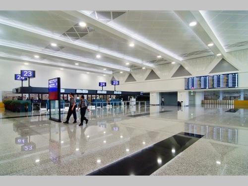 桃園空港第2ターミナル、拡張部分の出発ロビー供用が開始/台湾