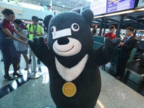 台北市マスコットに就任の熊讃、外交デビュー  米で都市PR/台湾