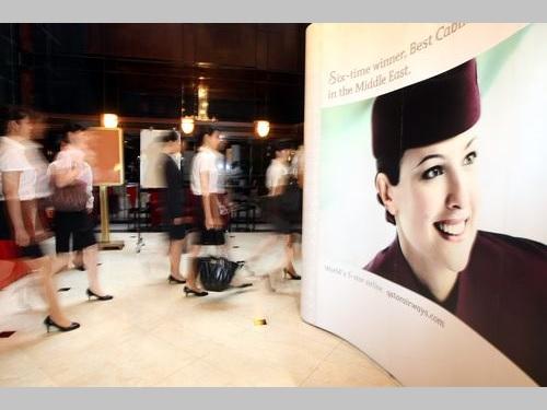 カタール航空、台湾人CAの国籍を「中国」と表記 外交部が抗議