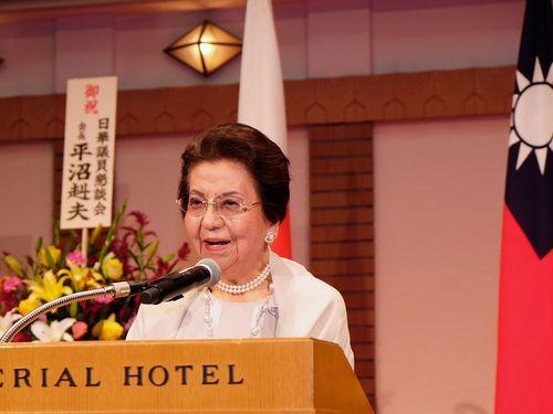 東京で中華民国建国記念祝賀レセプション  安部首相の母も出席/台湾