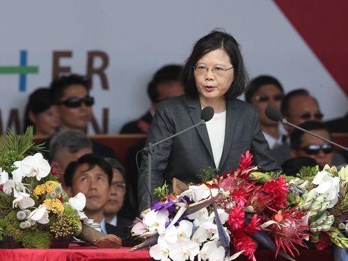 蔡総統「圧力に屈しない」 対中国大陸関係の打開策模索に言及/台湾