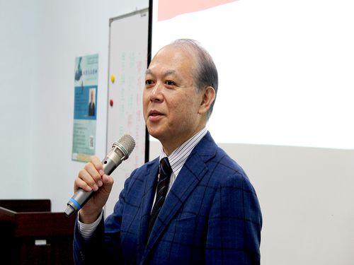 八田修一氏=台湾大学日本研究センター提供