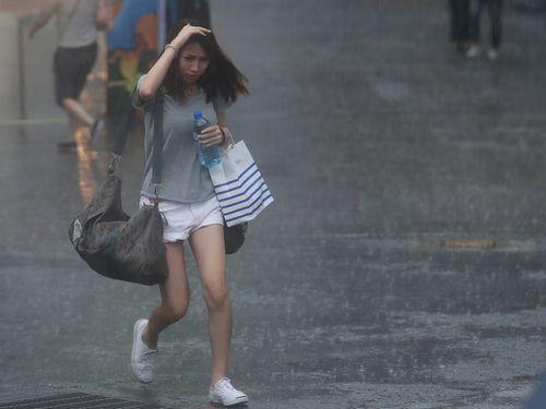 台湾北部や東部、激しい雨警戒=台風20号と北東の風の影響