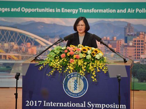 蔡総統、グリーンエネルギー産業での台湾の潜在能力見込む