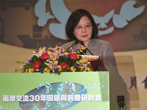 蔡英文総統「今が変化のターニングポイント」  中国共産党大会閉会/台湾