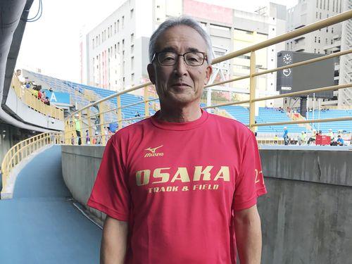 大阪陸上競技協会の竹内章専務理事