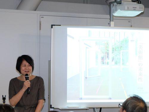都内の台湾文化センターで日台連携シンポ アートによる地域創生を考える