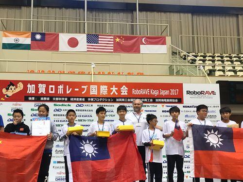台湾のチーム、9部門中6部門で優勝 日本のロボット競技大会