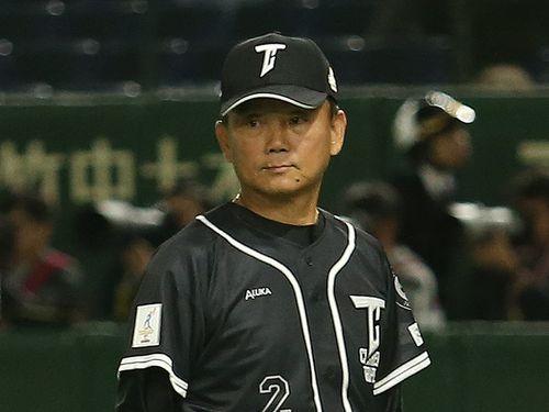 台湾代表の洪一中監督