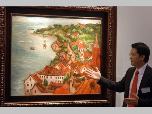 日本統治時代に活躍した台湾画家が描いた淡水の風景、日本語で紹介