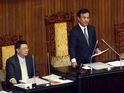 移行期の正義促進法案、国会が可決  野党は反発強める/台湾