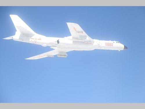 爆撃機H6(資料写真)=国防部提供