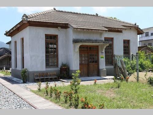 飲食店として再利用されている旧豊田村指導所