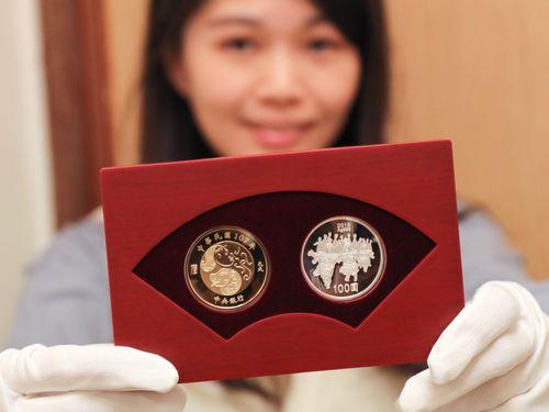 戌年の記念硬貨セット、25日に発売/台湾
