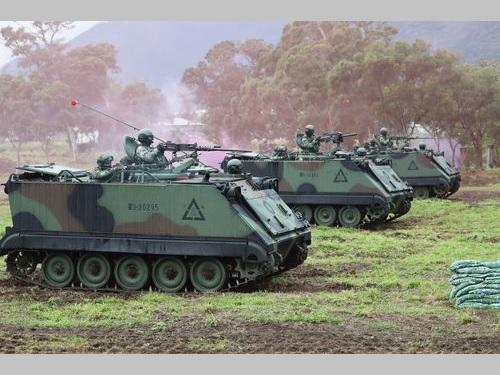 中国大陸軍の攻撃を想定  国軍が軍事訓練を公開/台湾