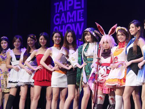 今年の台北ゲームショウを彩ったコンパニオンたち