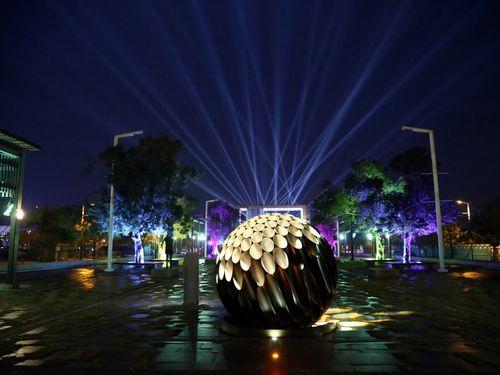 嘉義で開催の台湾ランタンフェス 日本風情たっぷり