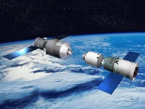 制御不能が伝えられている天宮1号=中国大陸載人航天工程の公式サイトより