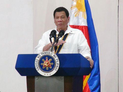 フィリピンのドゥテルテ大統領