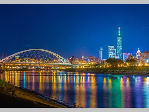 台北の夜景=台北市政府提供