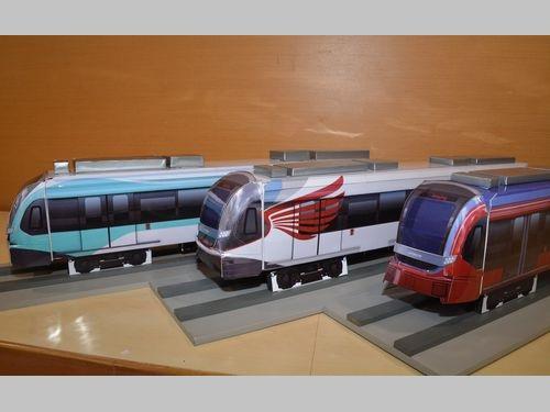 9日の記者会見で公開される3種類の車両デザイン