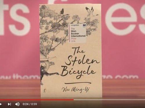 ブッカー国際賞の第1次ノミネート作品に選ばれた呉明益さんの小説「単車失竊記」=ブッカー国際賞のYouTubeチャンネルより